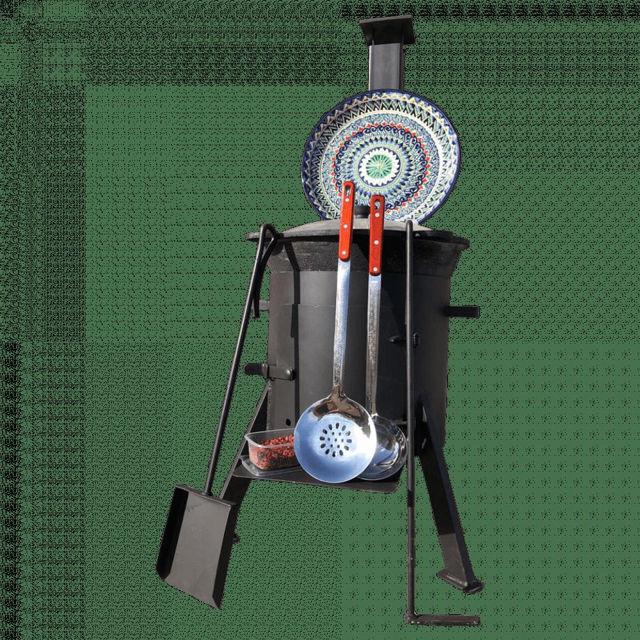 Специальный комплект 16л с трубой и дверцей