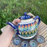 Чайный сервиз стандарт синий
