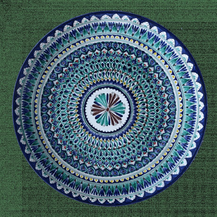 Ляган синий 55 см