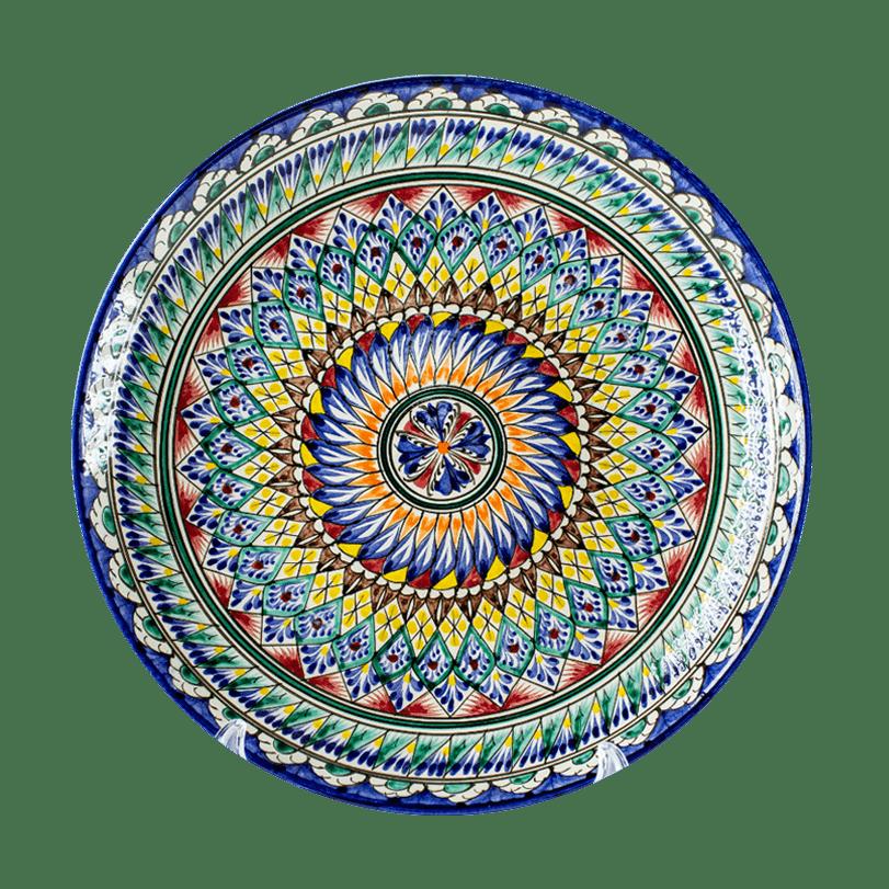 Ляган синий 38 см
