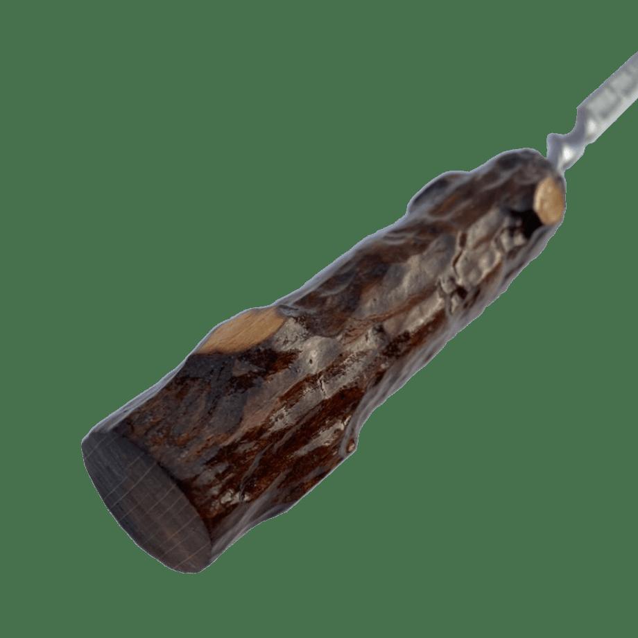 Шампура с деревянной ручкой 50 см «пенёк»