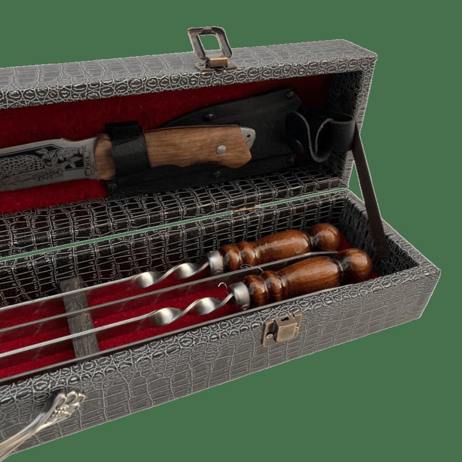 Подарочный набор в деревянной коробке «мини»