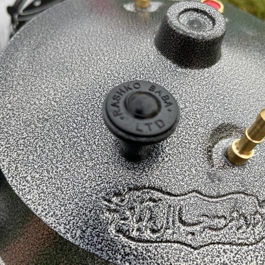 Афганский казан 15л черный