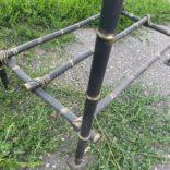 Мангал кованный бамбук