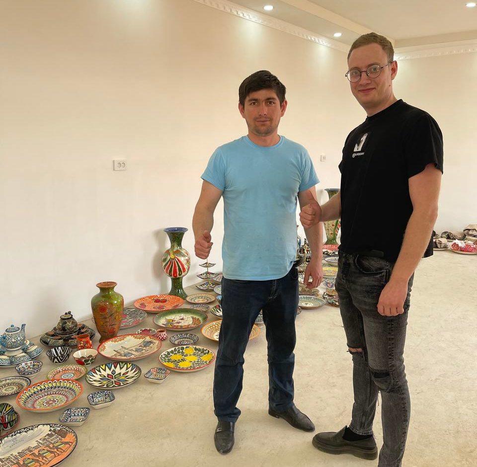 Производство керамической посуды от А до Я. Поездка в Узбекистан.
